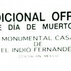 TRADICIONAL OFRENDA DE DÍA DE MUERTOS